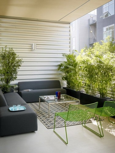 Interesting Ideas For Decorating Apartment Balconies