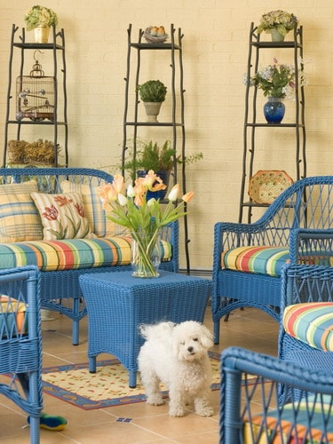 Simple Ideas To Help You Repaint Wicker Furniture Home