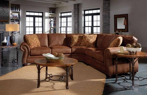 Broyhill Laramie Sectional Sofa With Wedge Living Room Furniture Ideas Part 74