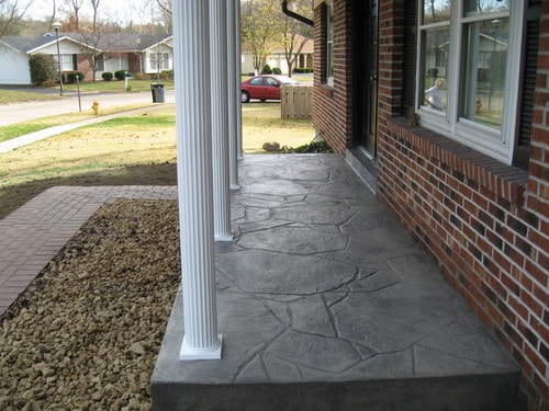 Concrete-Front-Porch-Home-Design-Ideas