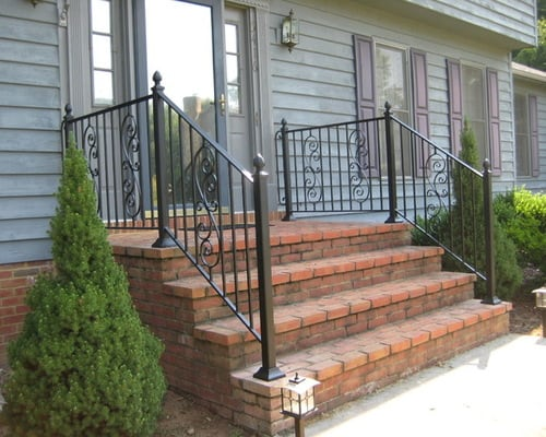Decorative Outdoor Handrails