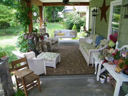 Front Porch Makeover Summer Craftsman Decor And Furniture Ideas