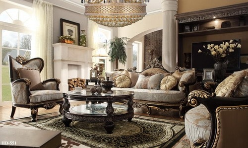 Easy Tips To Make Classic Style Living Room Ideas Home