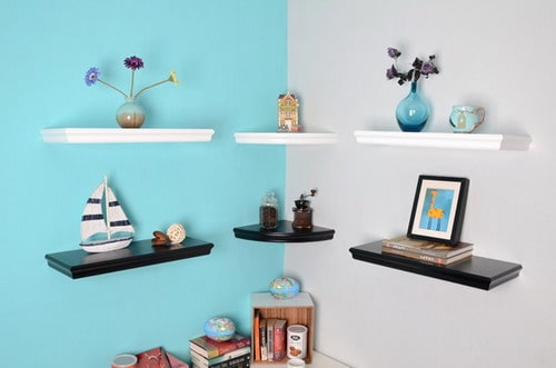 Some Different Options for Corner Shelves Units