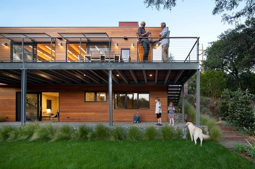 Modern-Exterior-Building-Green-Home-Designs-Mill-Valley-CA