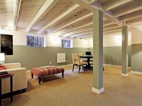 Open-Basement-Ceiling-House-Remodeling-Ideas