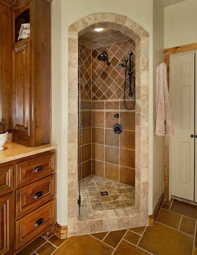 Relocating-Walk-In-Showers-Water-Lines-Small-Corner-Bathroom-Shower-Designs