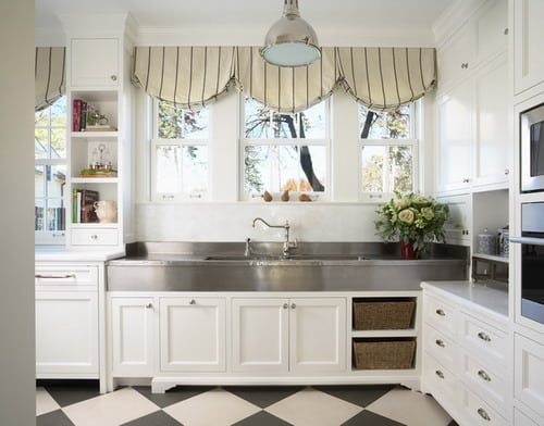 How to Choose the Best Creative Kitchen Curtain Ideas - Home ...