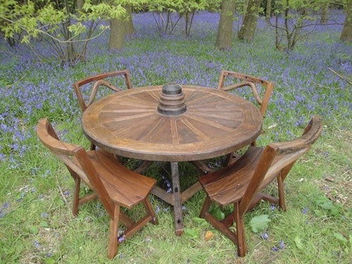 Solid Wood Garden Furniture