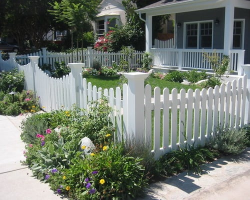 Installing Picket Fence Panels