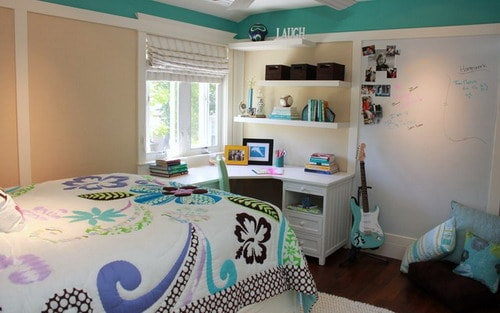 Contemporary-Bedroom-Yountville-Beachy-Small-Space-Teenage-Room-Design-Ideas