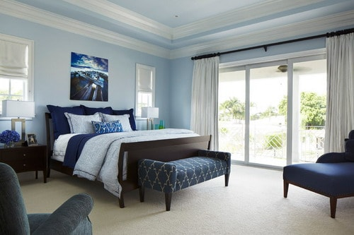 Feng Shui Color for Moderate Size Bedroom