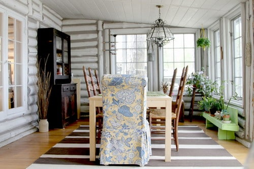 Easy-Decorating-Ideas-shabby-chic-style-dining-room-Inspired-by-Nature-