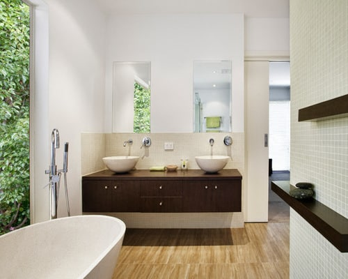 Feng-shui-asian-style-bathroom-double-bowl-vanity-sinks
