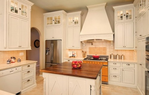 French-Country-Style-Kitchen-White-Cabinets-Ideas