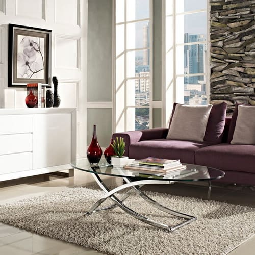 Modern-Chrome-And-Clear-Oval-Glass-Coffee-Table-Solo-Modern-chrome-and-clear-oval-glass-living-room-furniture