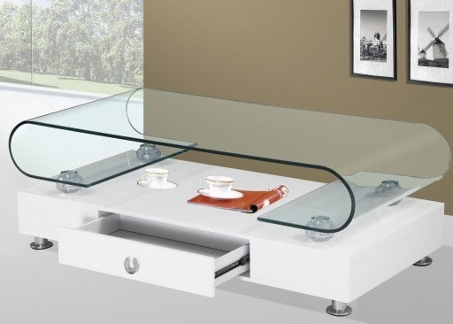 Modern-white-coffee-table-with-drawer-and-glass-top-Valladolid-modern-coffee-tables-picture
