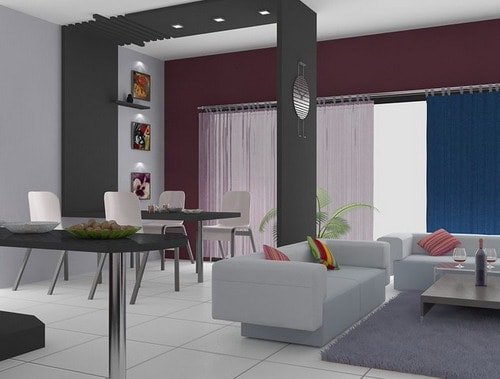 Interesting ideas apartment interior designs on a budget for 2 bhk apartment interior design