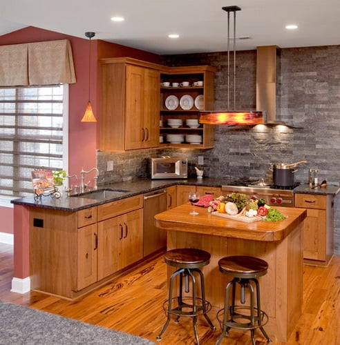 Helpful Tips To Light Your Kitchen For Maximum Efficiency: Easy Tips For Remodeling Small L-Shaped Kitchen