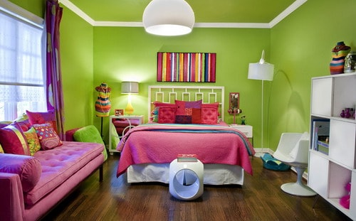 Excellent choices paint colors for teen bedrooms Teenage room paint ideas