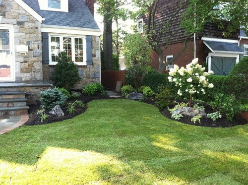 Choosing tips for the best front yard design plans home for Front garden design