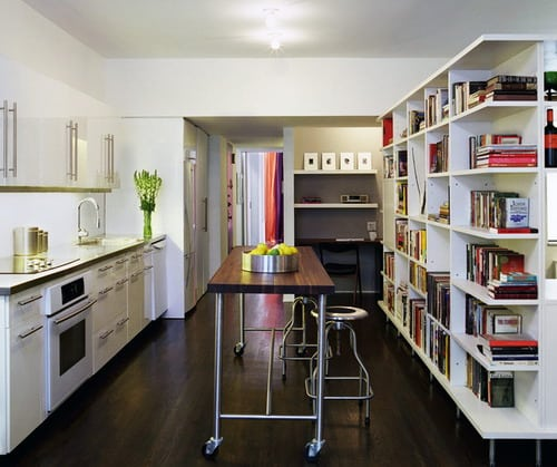 Sterling-Apartment-modern-kitchen-ideas-bookshelf-room-divider-ideas