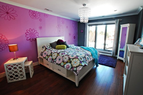 Dark Pink Paint Colors For Girls Room