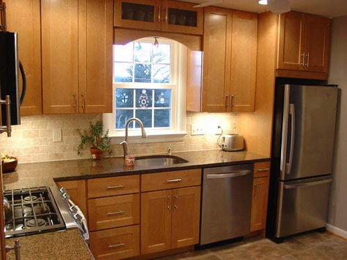 Easy tips for remodeling small l shaped kitchen home for L shaped kitchen ideas