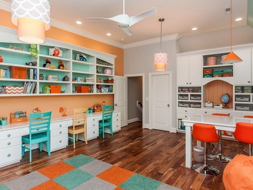Simple Ideas For Designing Study Room For Kids Home