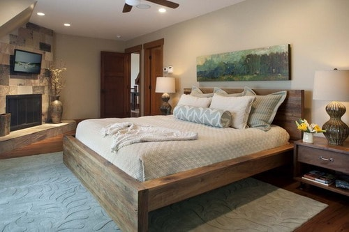 Wooden-Bed-Frames-Contemporary-Bedroom-by-Living-Stone-Construction-Inc