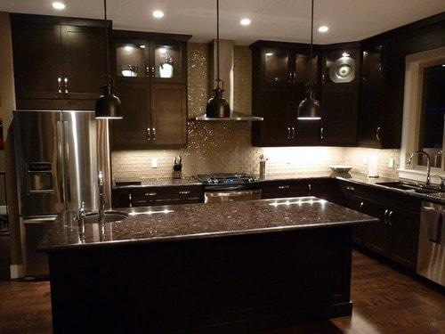 Contemporary-Dark-Wood-Kitchen-Cabinets-by-Steve-Manning-Kekuli-Bay-Cabinetry