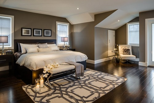 Contemporary-bedroom-romantic-style-room-decorating-designs