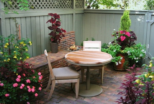 small patio townhouse backyards joy studio design