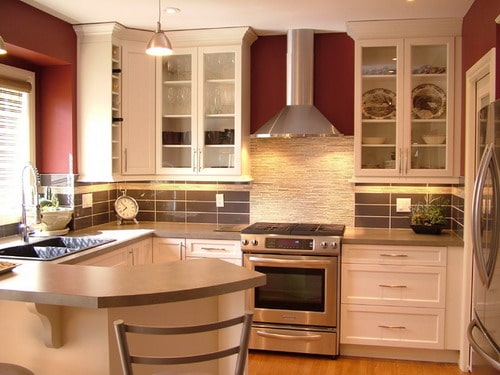 The best tips for planning small kitchen layouts home for Small modern kitchen
