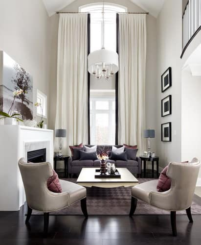 Jane Lockhart Interior Design Small Transitional Living Room Formal Style Decorating Ideas