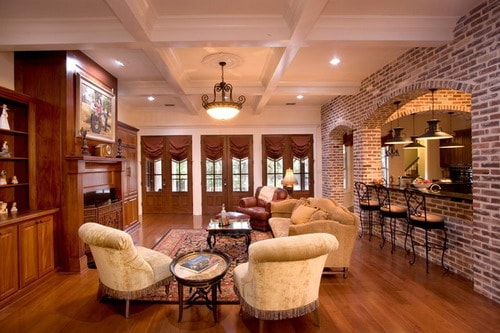 texas living room how to make the right country style room with brown walls 11154