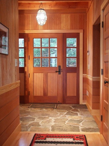 Helpful tips to choose the best foyer flooring ideas for Rustic flooring ideas
