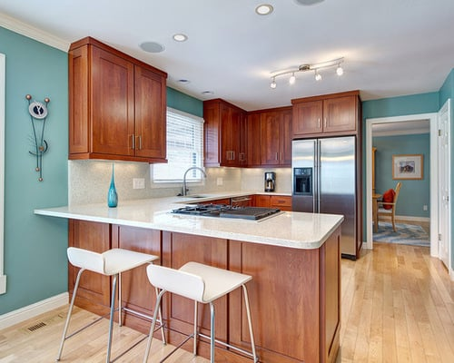 How Choose The Best Small Kitchen Colors Home Decor Help