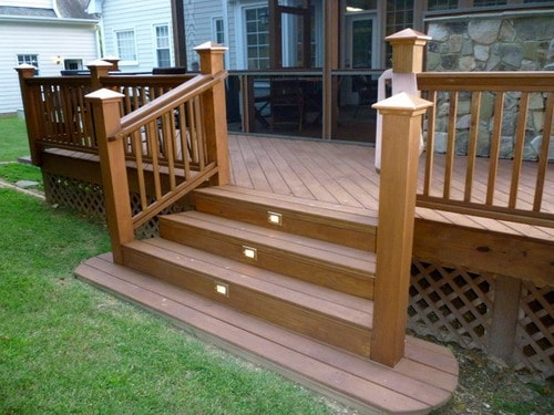 Sunroom-Deck-Patio-traditional-wooden-deck-handrailing-staircase-ideas