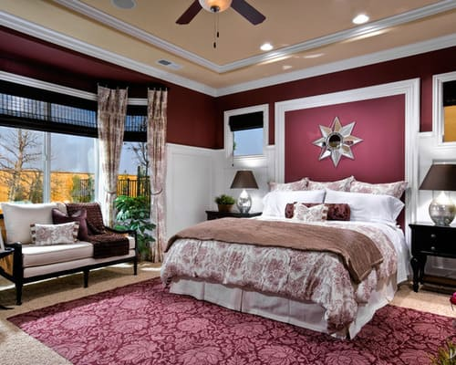 burgundy bedroom ideas helpful tips for choosing the best bedroom color schemes 10964