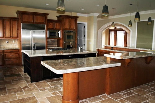 Contemporary-kitchen-wooden-cabinets-unique-kitchen-remodel-ideas