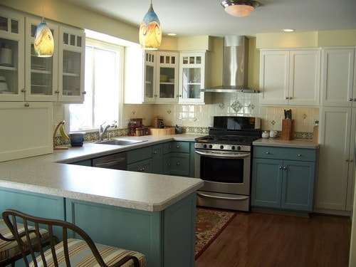 Step by Steps Installing Kitchen Peninsula Cabinets - Home ...