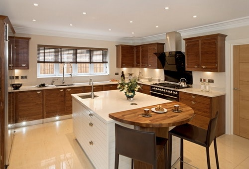 contemporary kitchen blinds how to choose the best modern wood kitchen cabinets home 2466