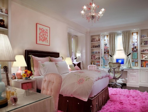 Simple Bedroom Designs for Teenage Girls