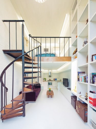 The best interior design for small house home decor help home decor help - Small space staircase image ...