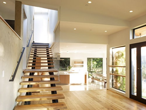 Mill-Valley-Contemporary-SPLIT-LEVEL-STAIRCASE-TO-MASTER-BEDROOM-contemporary-house-ideas