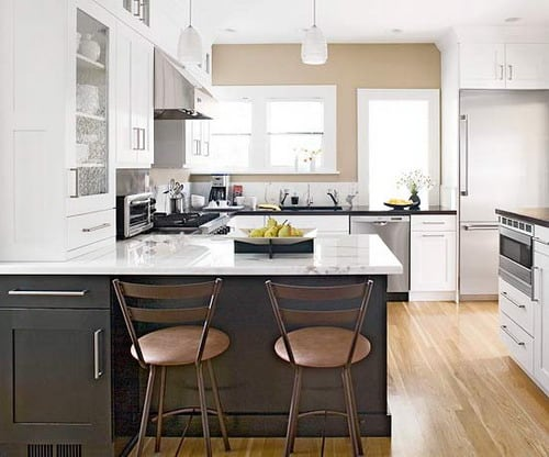 Tips to Make More Leg Room under Kitchen Peninsula