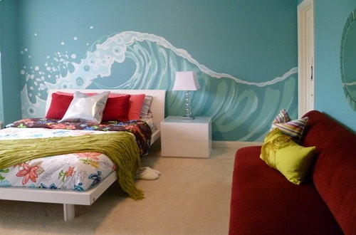 Beach Themed Girls Bedroom