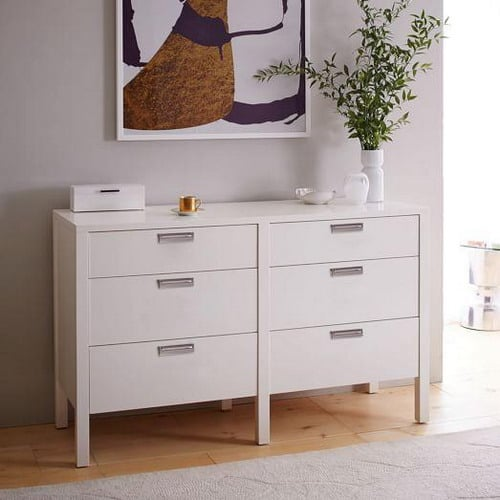 Painting Tips for Old Lacquered Bedroom Dresser