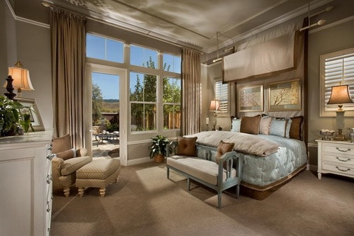 French style bedroom designs